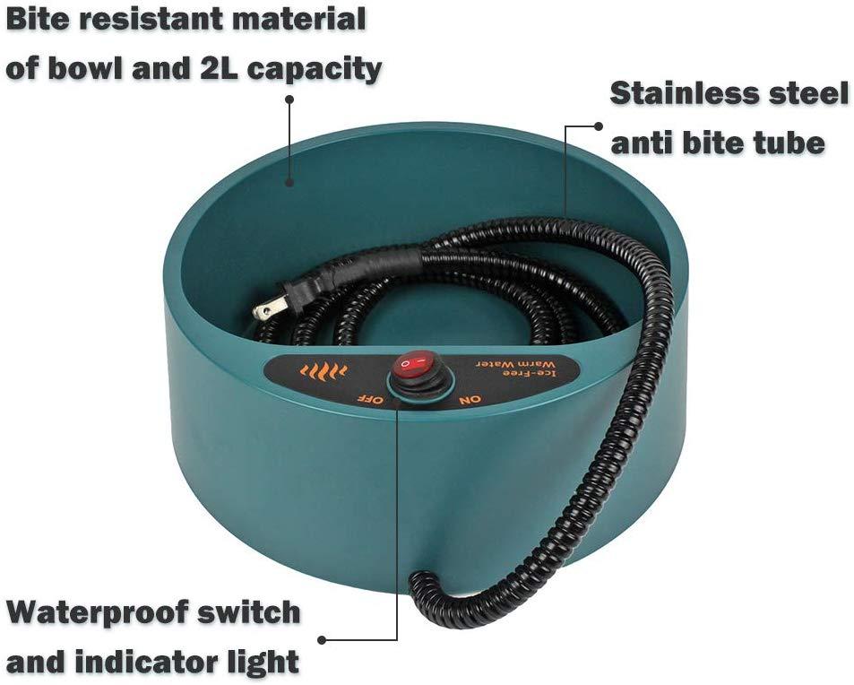 PETLESO Heated Water Bowl