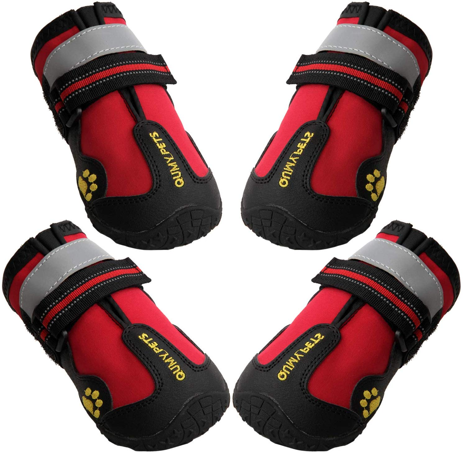 qumy dog boots,sizing,size chart,size 4,size 5,canada,review,dog boots qumy,waterproof