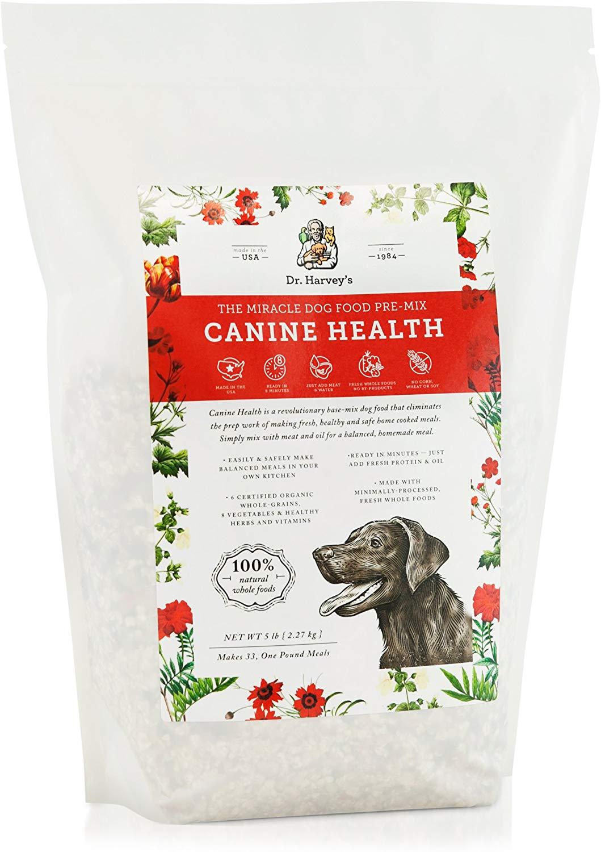 Dr. Harvey's dog food